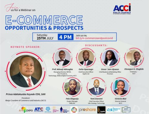 Abuja Chamber Of Commerce And Industry Set To Hold Webinar On E-Commerce Opportunities