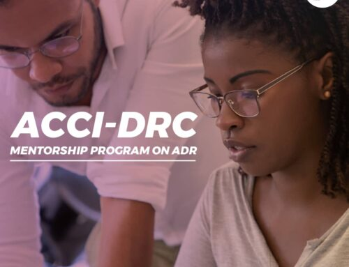 Abuja Chamber Of Commerce Dispute Resolution Centre (ACCI-DRC) Set To Launch Its Mentorship Programme On Adr.