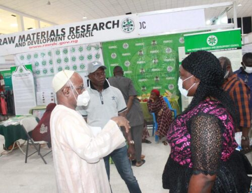 ACCI team and exhibitors at day 3 ongoing 16th Abuja International Trade Fair